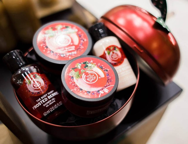 The Body Shop Frosted Berries goddie bag
