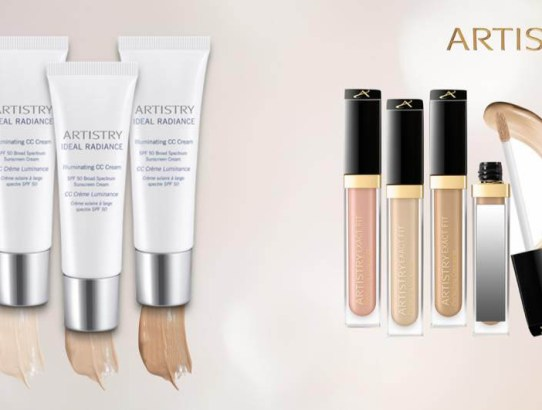 Makeup news by Artistry: Ideal Radiance Illuminating CC Cream & Exact Fit Perfecting Concealer