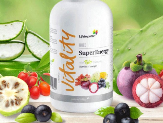 Power of 7: boost de energie şi cocktail de sucuri bio