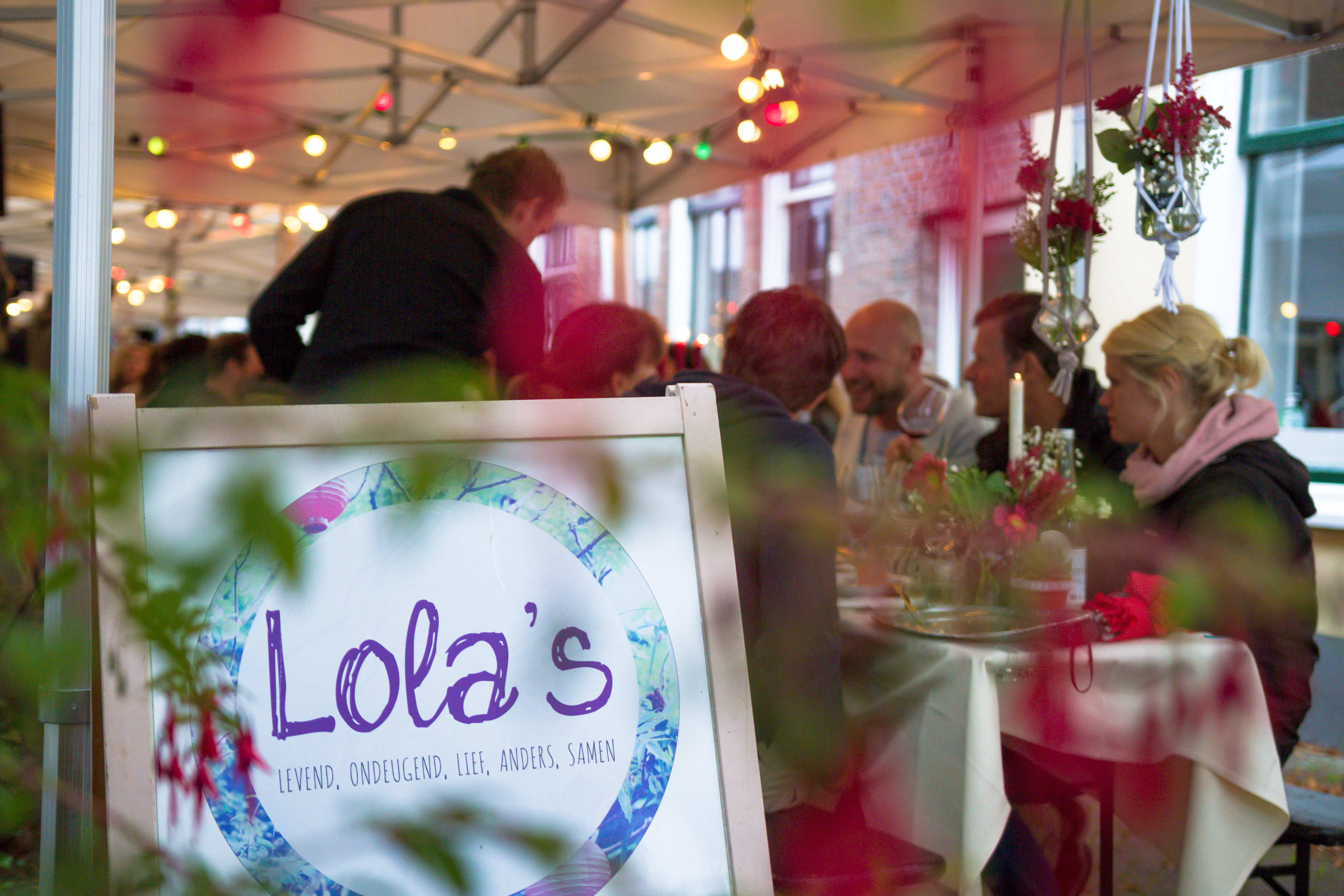 Lola's Events Styling straatdiner