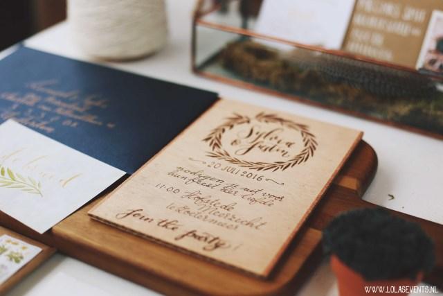 Kalligrafie uitnodiging