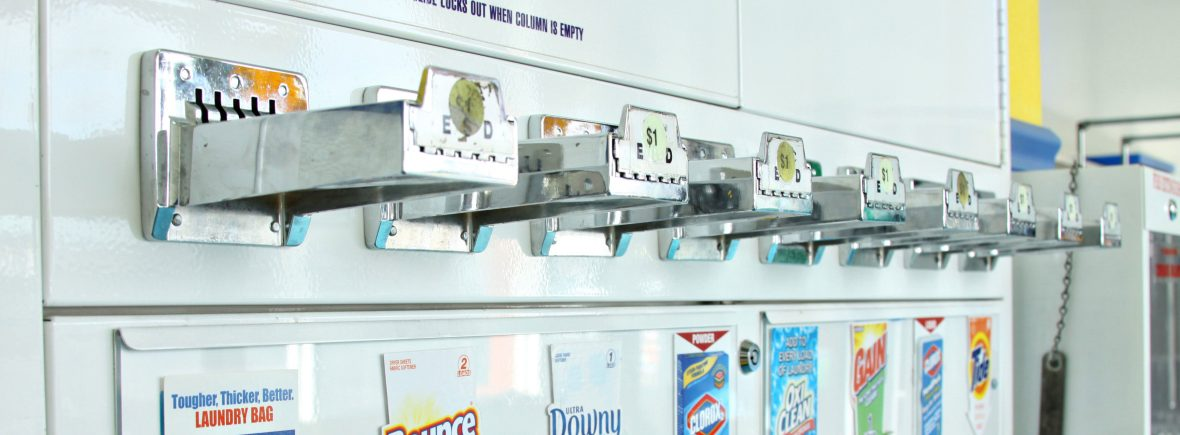 laundry soap vending machine