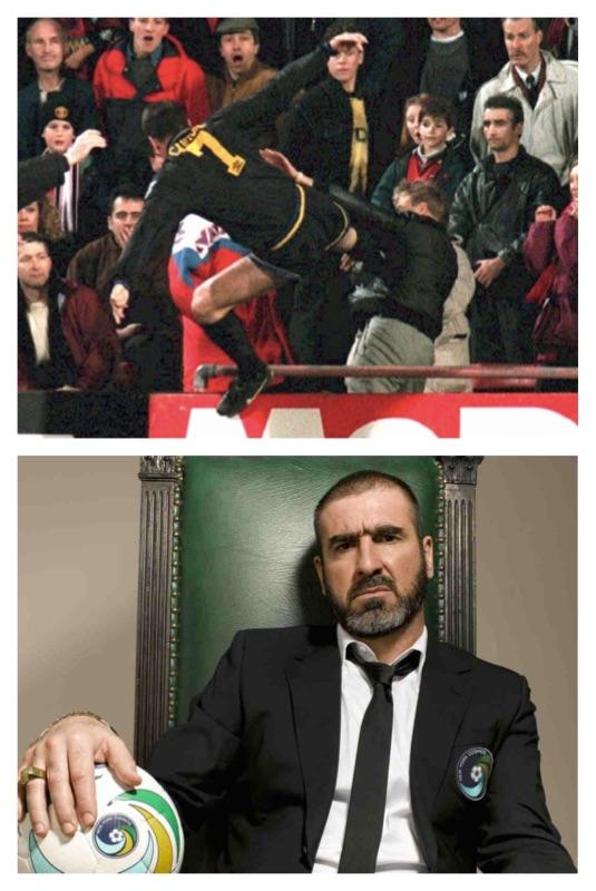 10 of eric cantona's most wonderfully arrogant quotes: Eric Cantona Quotes The Weird The Wonderful Words Of The King