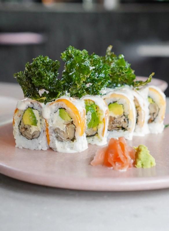 Sushi Umakase de Kale de Mudrá