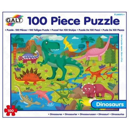 100 Piece Puzzle - Dinosaur