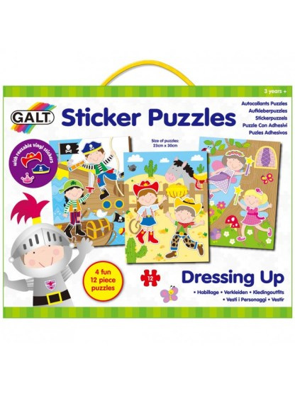 Sticker Puzzles Dressing Up