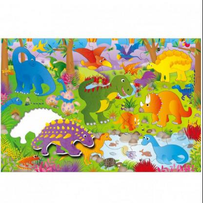 Giant Floor Puzzle - Dinosaurs