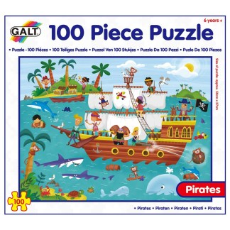 100 Piece Puzzle - Pirates