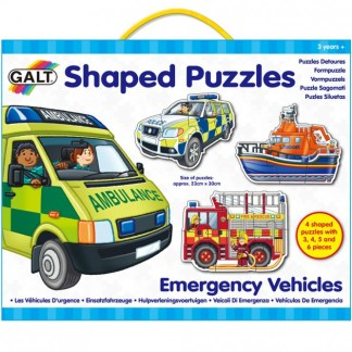 Shaped Puzzles - Emergency Vehicles