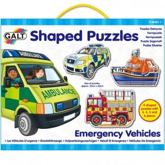 Shaped Puzzles - Emergency Vehicles