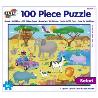 100 Piece Puzzle - Safari