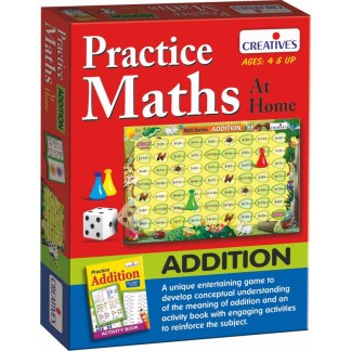 Practice Maths at home- Addition