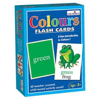 Flashcards - Colours
