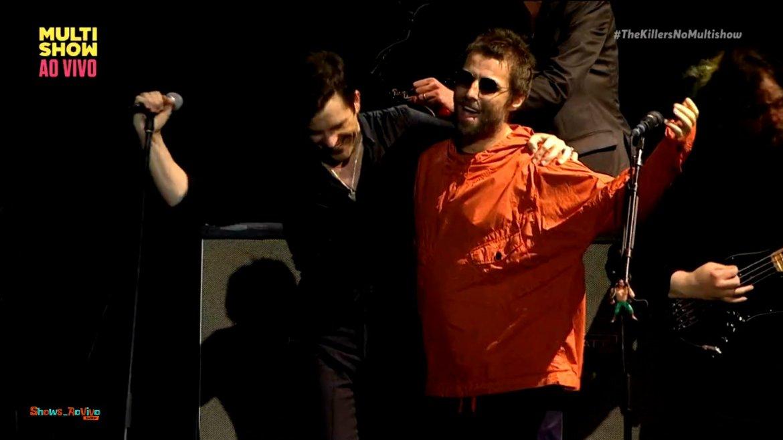 Liam Gallagher sorprende a The Killers