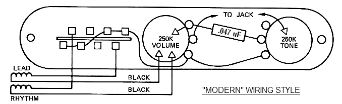 Tele Wiring Battle Royale Vintage Vs Modern