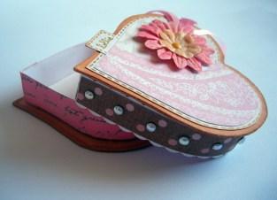 Boîte coeur ouverte