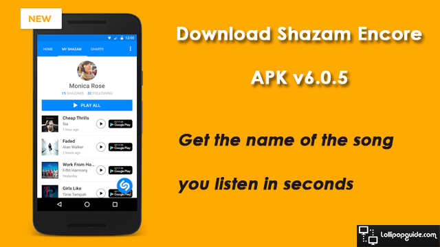 download shazam encore apk