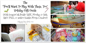 """You'll Want to Play With These, Too"" Holiday Gift Guide & Book Giveaway!"