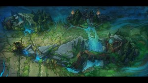 Summoner's Rift Concept Art CHECK!