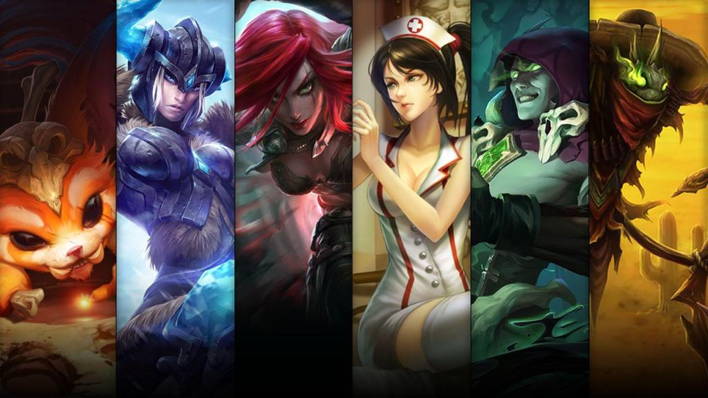 Champions and skins sale: [09.15 – 09.18]