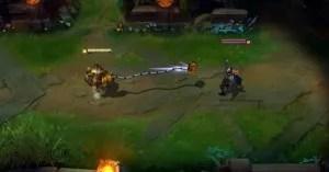 Blitzcrank's Rocket Grab - taken from Riot's Champion Spotlight