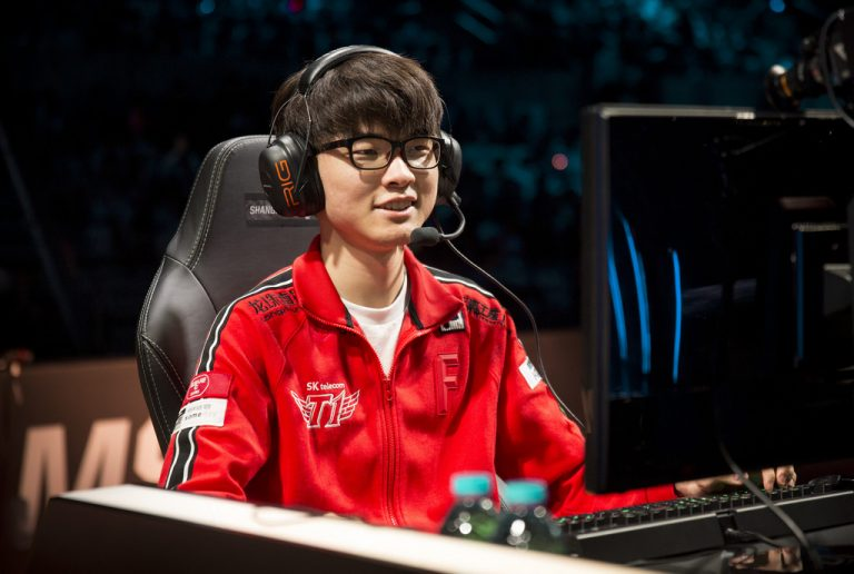 """Faker: """"I have a tendency to get nervous when I shouldn't and don't get nervous when I should."""""""