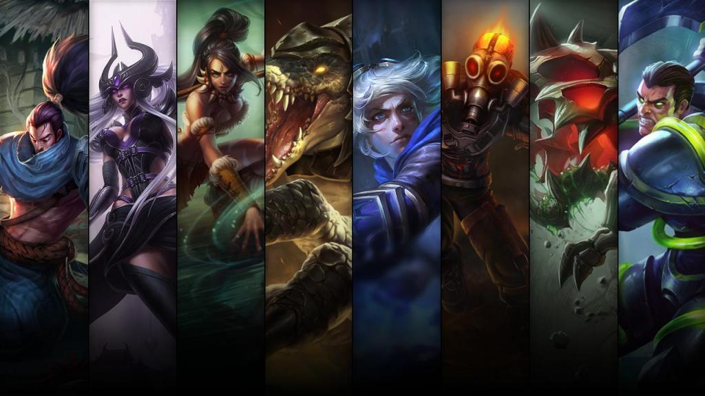 Champion and skin sale: 07.28 – 07.31