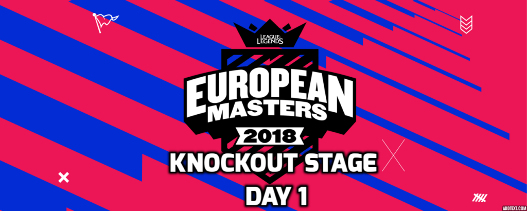 Highlights of the European Masters Knockout Stage 1