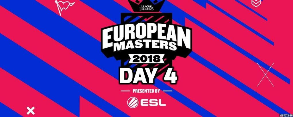 Highlights of the European Master Main Event, Day 4