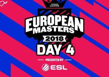 European Masters Day 4