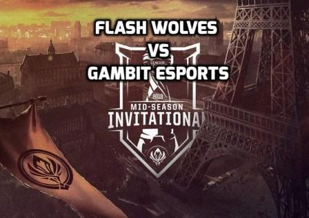 Flash Wolves vs Gambit Esports
