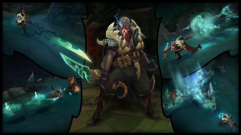 Pyke collage