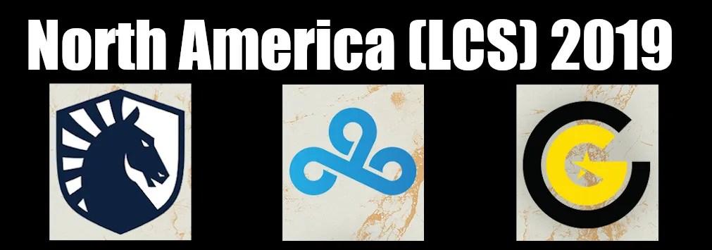 North America (LCS) 2019
