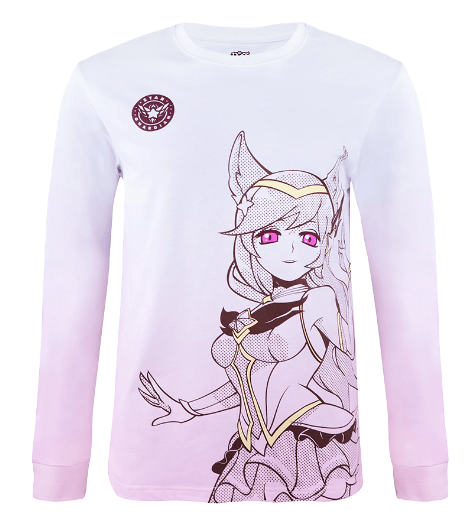 STAR GUARDIAN AHRI LONG SLEEVE TEE (UNISEX)