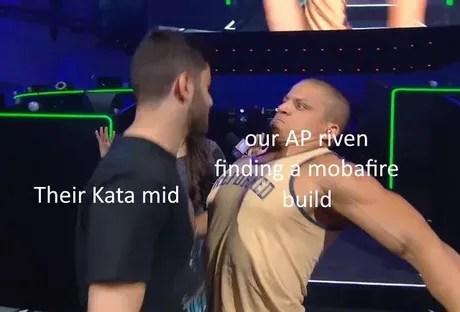 League of Legends Memes – AP Riven