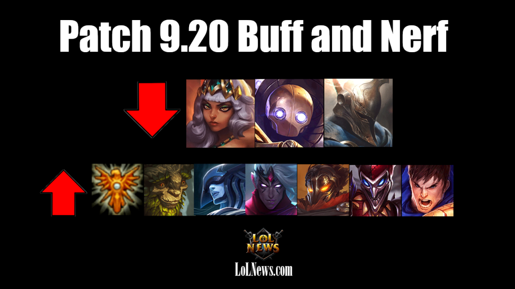 League of Legends Patch 9.20 Official Notes