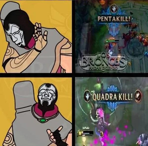 League of Legends Memes - Jhin is Four