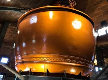 L'ancienne cuve de la brasserie de Sapporo