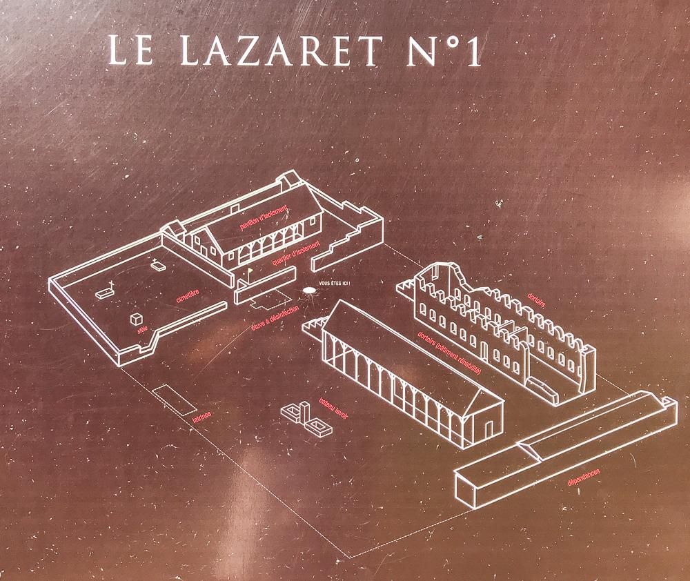 Engagisme - Plan du lazaret