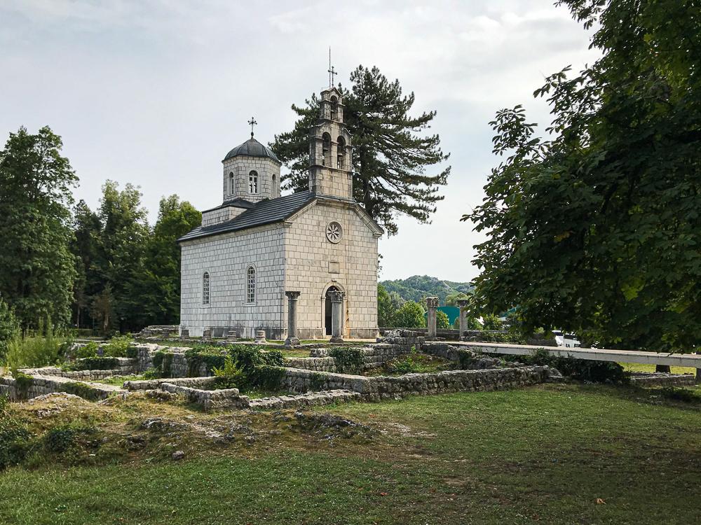 Eglise orthodoxe à Cetinje