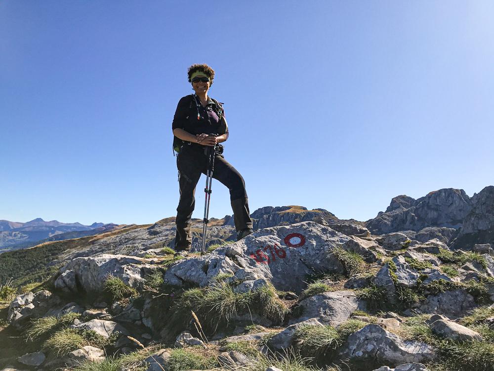 Arrivée au mont Maja e Can !