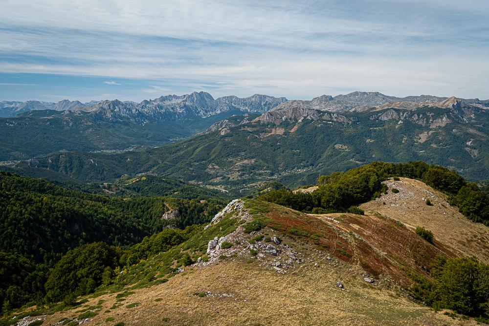 Vue à 360° depuis le mont Gumer Lumer