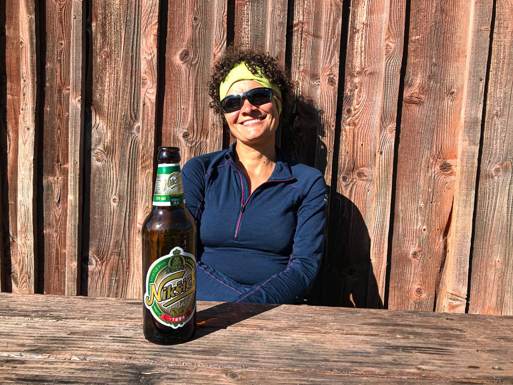 Une bonne bière au soleil au KATUN EKO