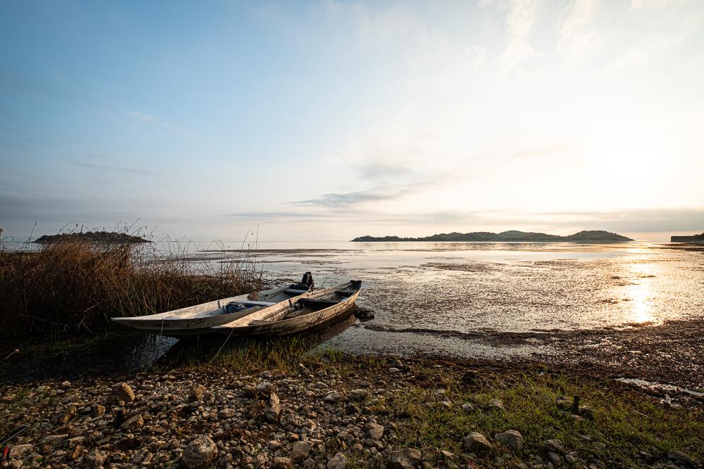 Lac SKADAR au matin