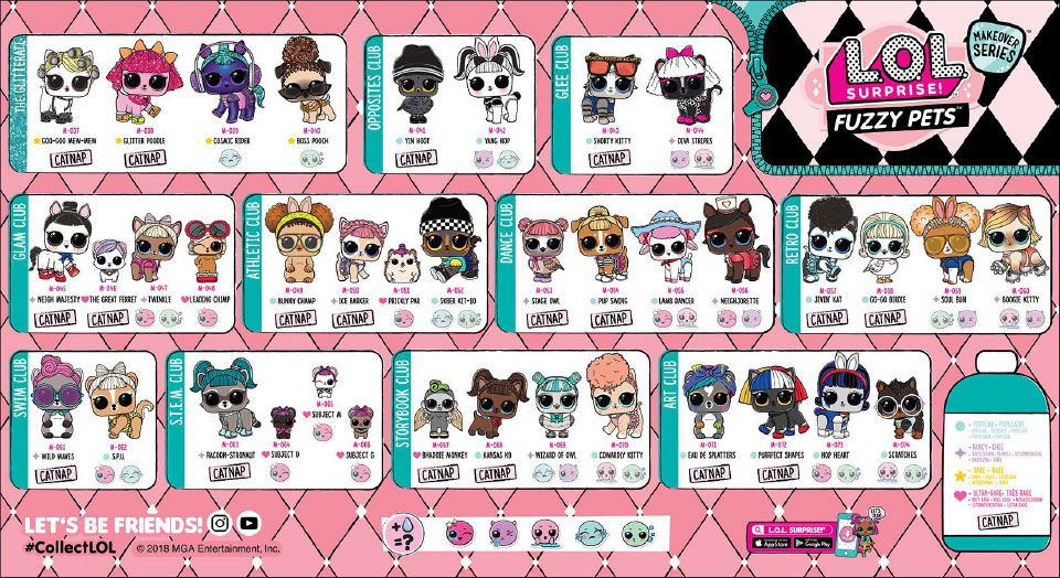 Makeover Fuzzy Pets Poster coleccionista