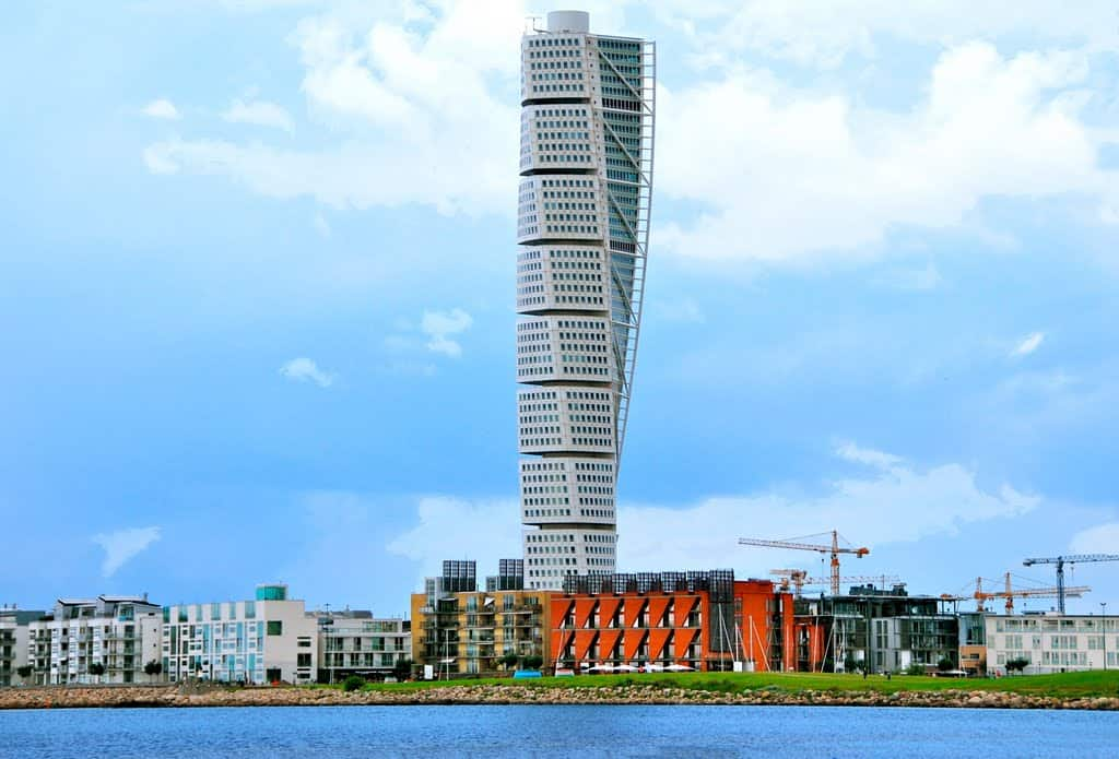 Image result for Turning Torso in Malmo, Sweden