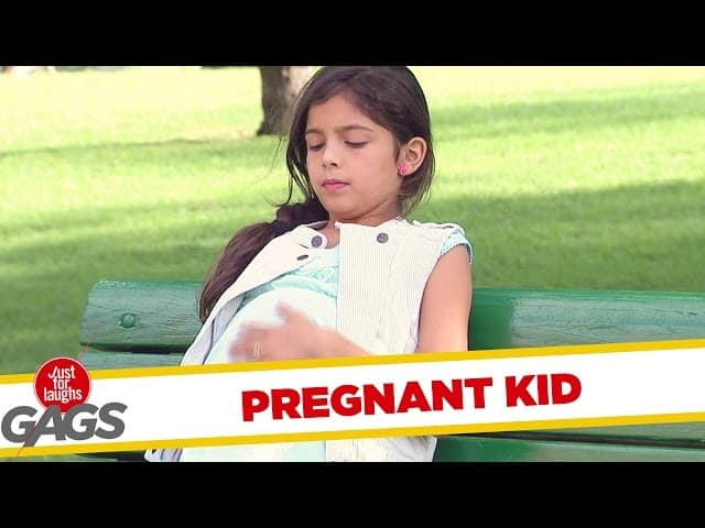 Pregnant Prank Just Laughs