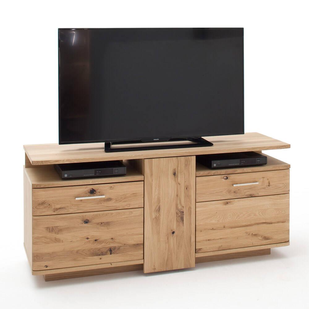 solid tv lowboard 150cm samara 05 equipment cabinet made of asteiche bianco solid w h d 150 67 46cm