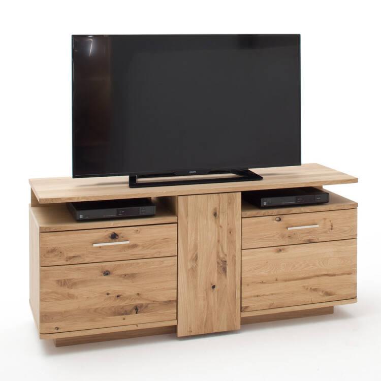 solid tv lowboard 150cm samara 05 equipment cabinet made of asteiche b