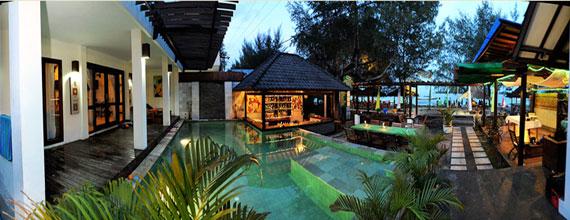 Samba Villas in Gili trawangan Lombok